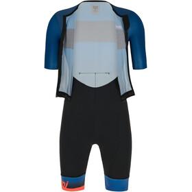 Santini Ferox SS Trisuit Men space blue